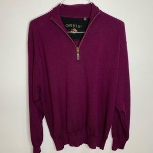 Orvis Longsleeve 1/2 Zip Sweater